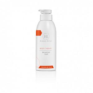 Holy Land BODY THERAPY BALANCING SOAP | балансирующее мыло ACNE BODY THERAPY – Программа для проблемной кожи 500 мл